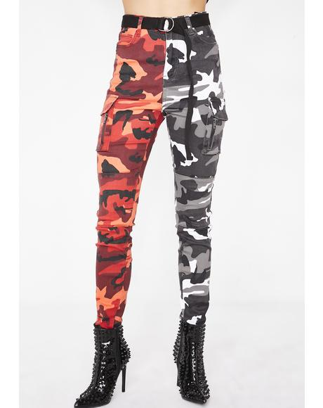 Double Down Camo Pants