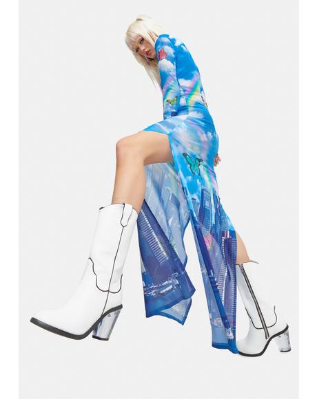 Fragile Fantasy Cowboy Boots