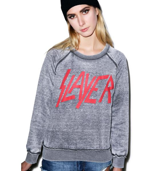 Iron Fist Slayer Crew Pullover