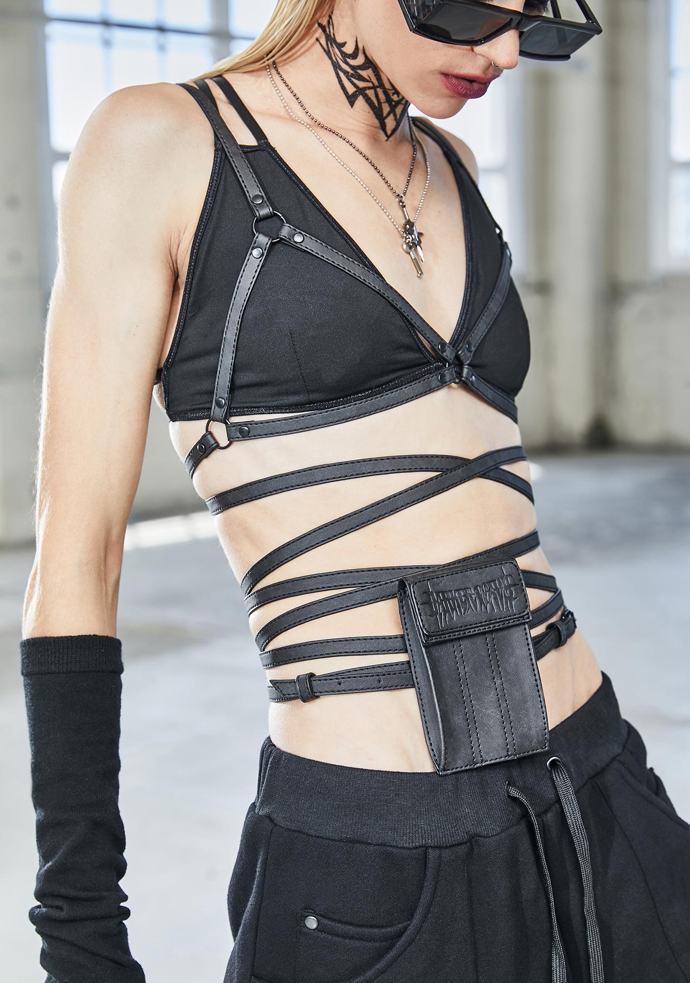 DARKER WAVS Bassline Pocket Harness Bra