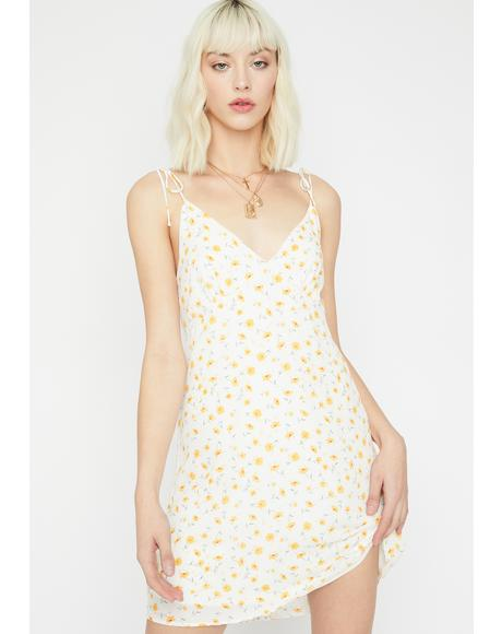 Call Me Blossom Mini Dress