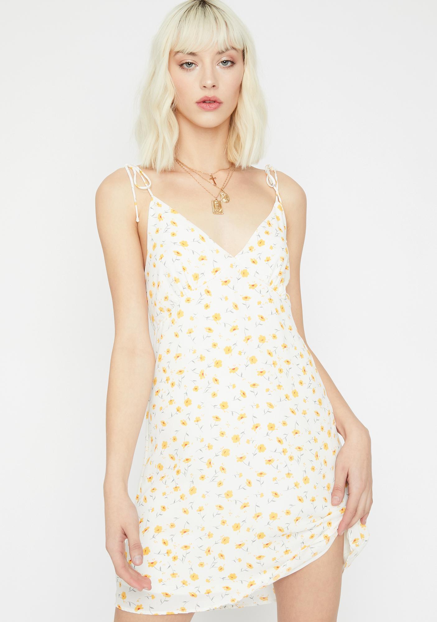 Call Me Blossom Mini Dress