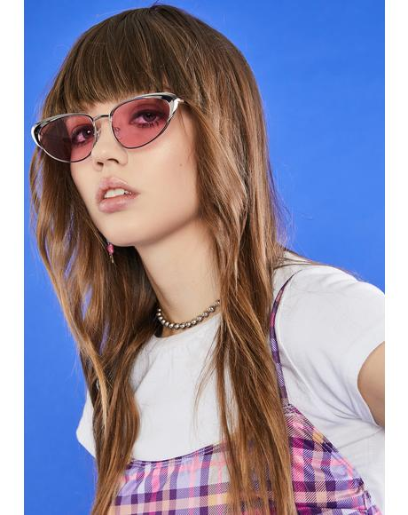 BB Total Wannabe Cat Eye Sunglasses