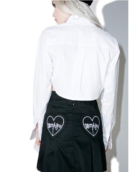 Zip-It Pleated Skirt
