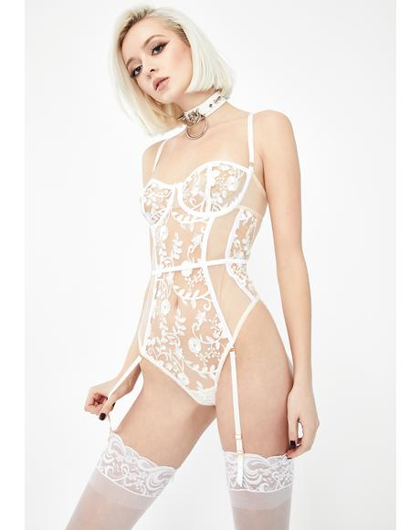 Dream About Me Lace Teddy
