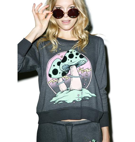 Wildfox Couture Fungi Couch Princess Sweater