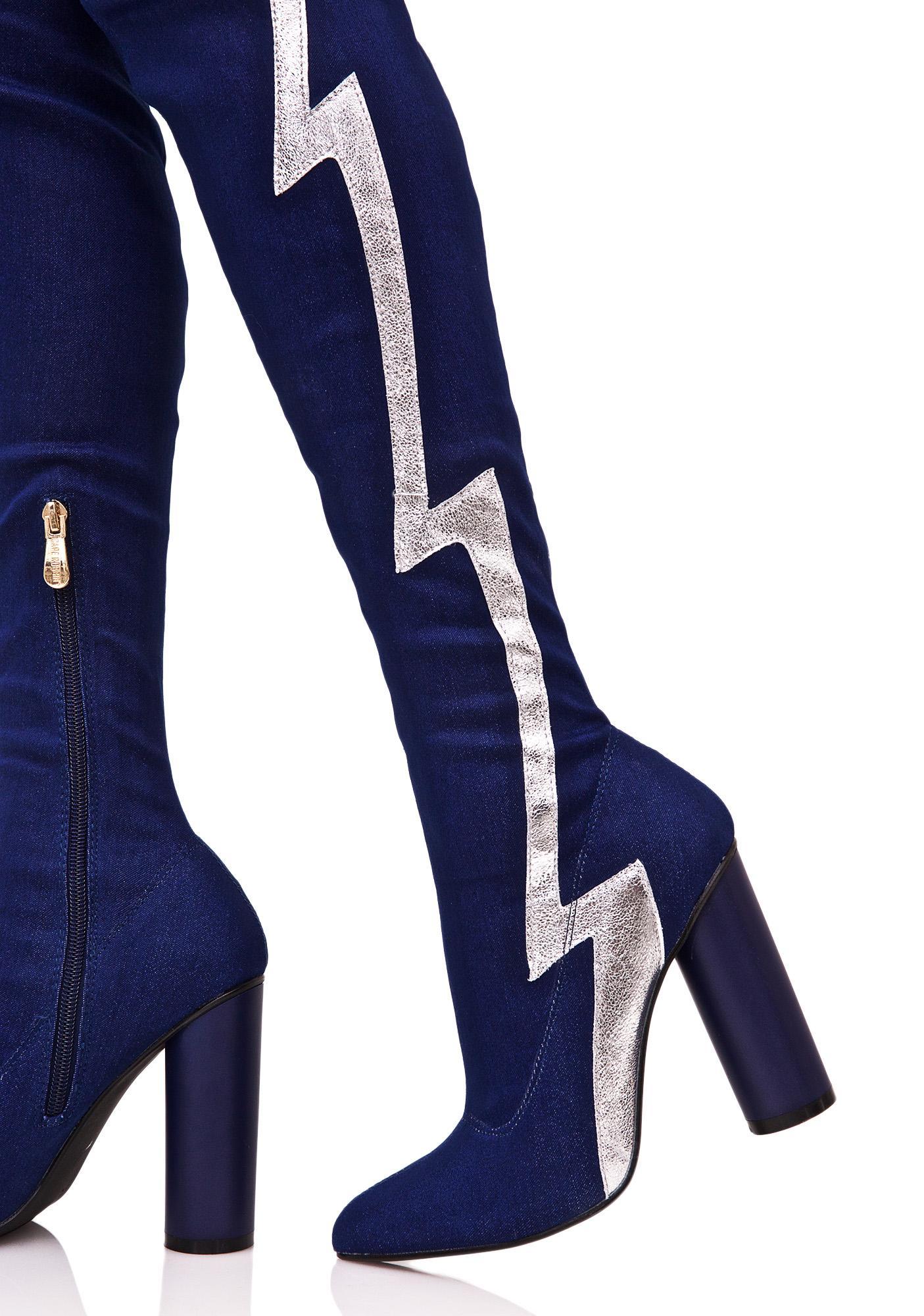 Thunderstrike Thigh-High Boots