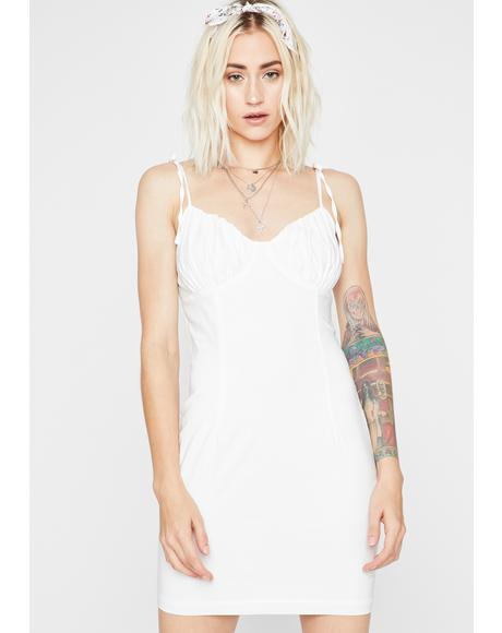 Vanilla Skylight Eve Linen Dress