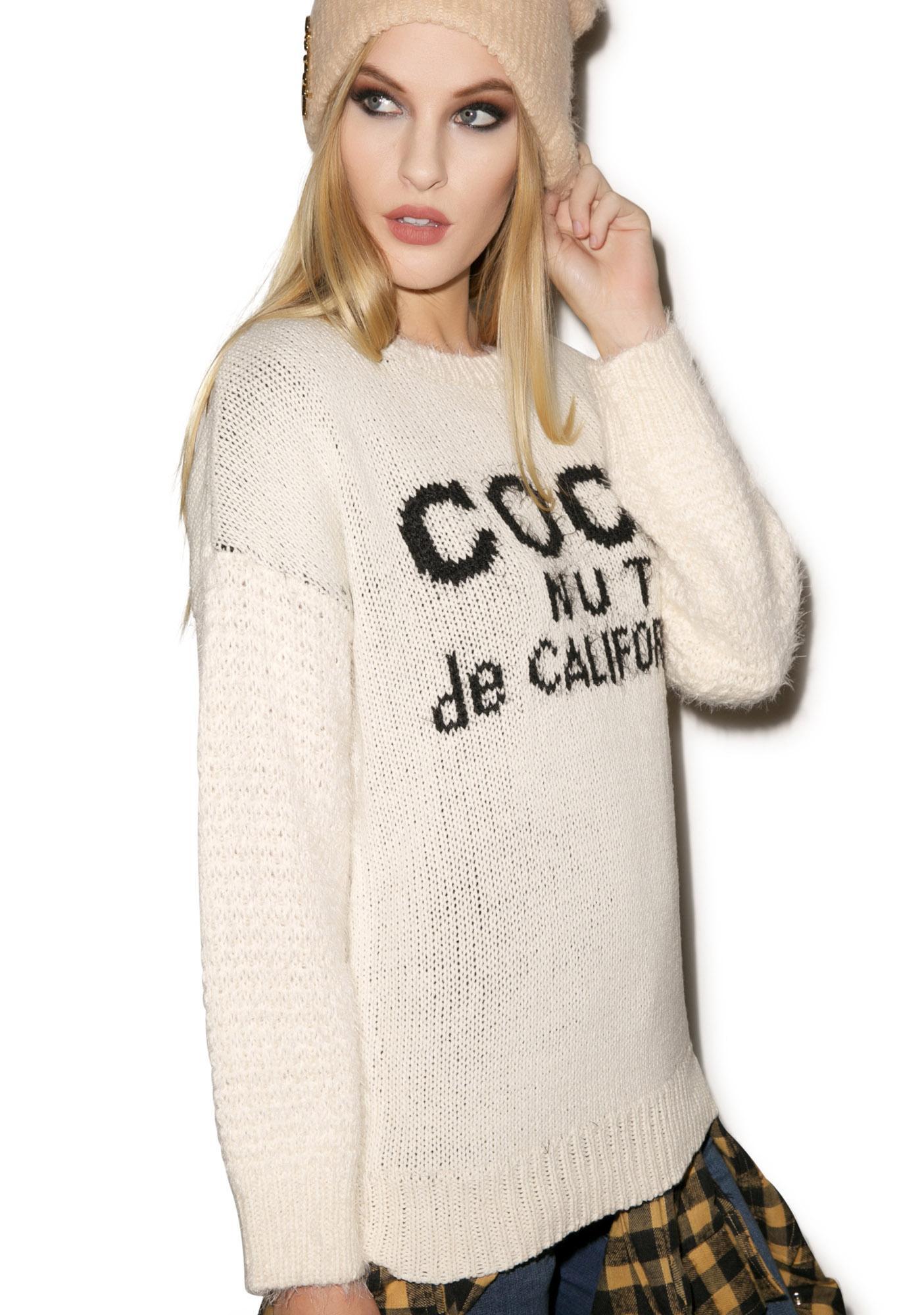 Coconut Sweater