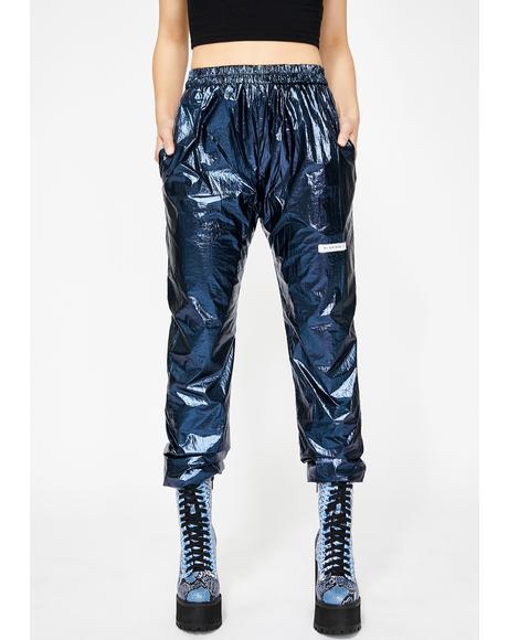 Metallic Sweatpants