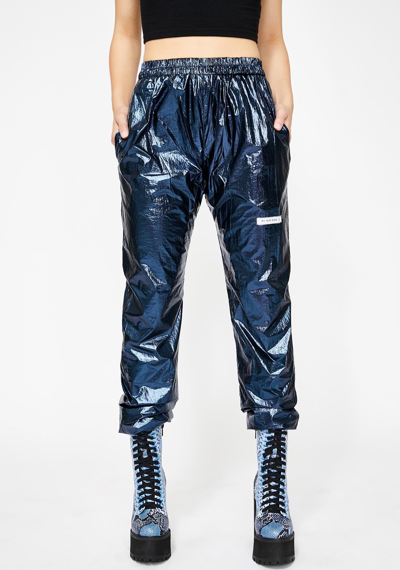 My Mum Made It Metallic Sweatpants