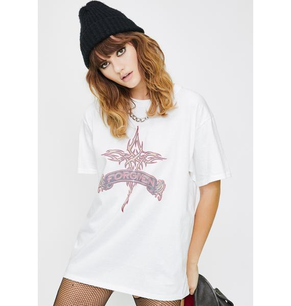 ONLY FRIEND Forgiven Graphic Tee