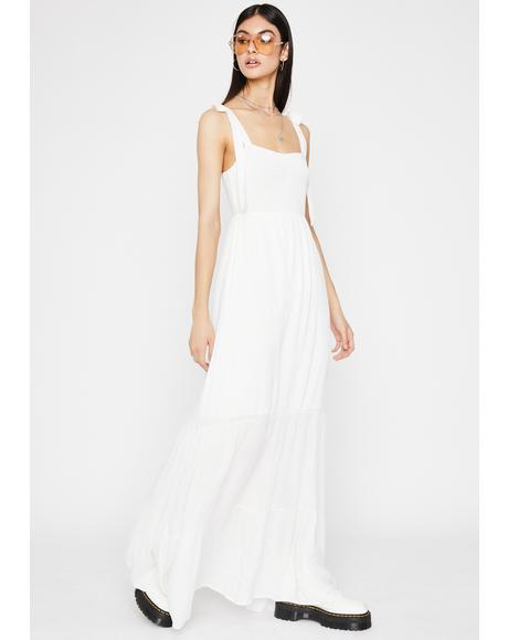 Frosted Sunshine Saint Maxi Dress