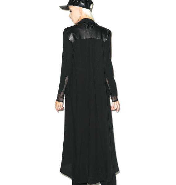 Black Wednesday Celestial Coat
