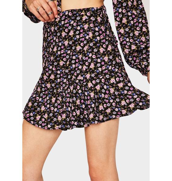 Back To Nature Mini Skirt