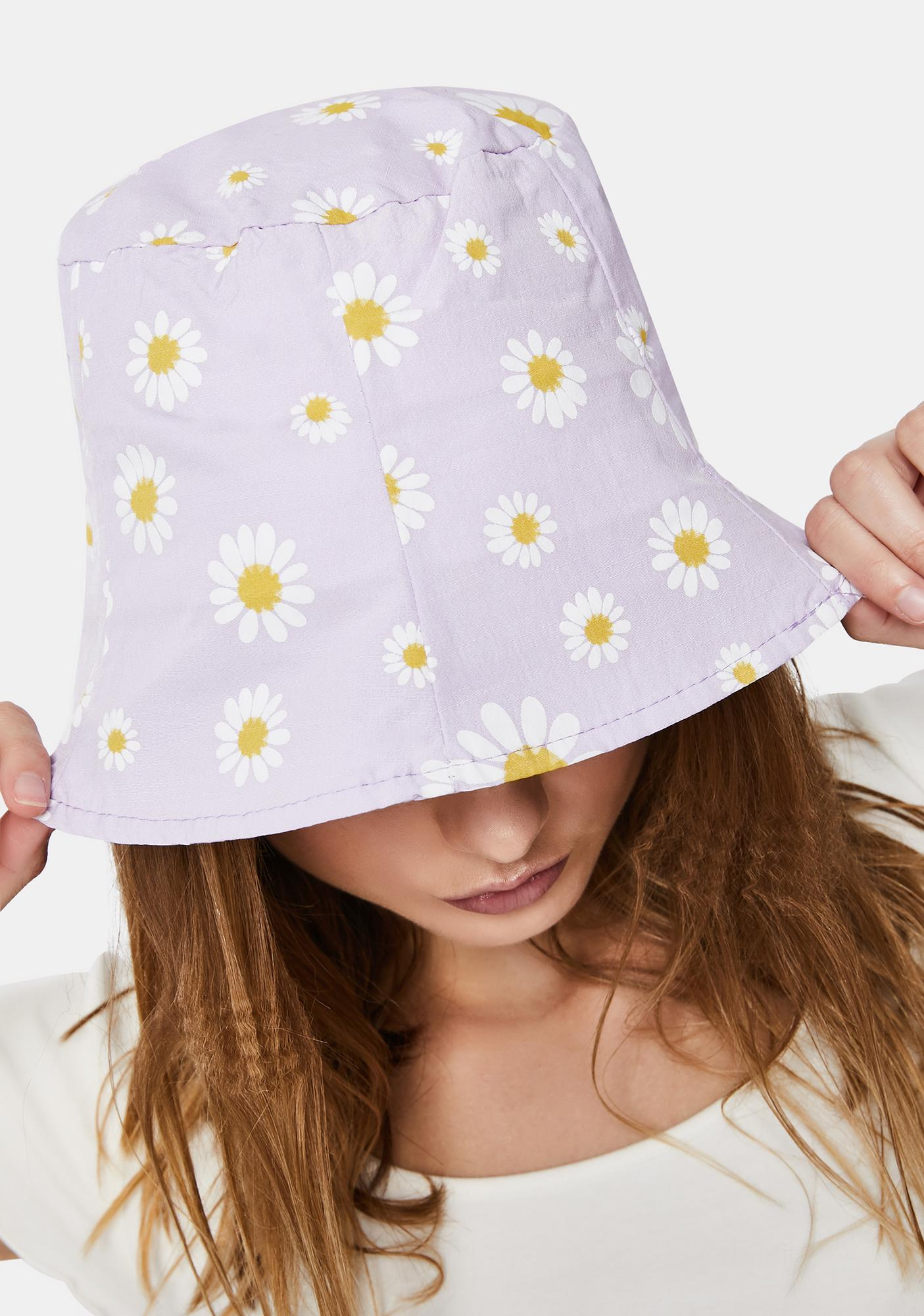 Pastel Daisy Girl Bucket Hat