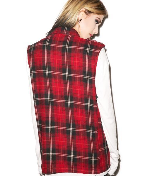 Tripp NYC Stud Out Vest