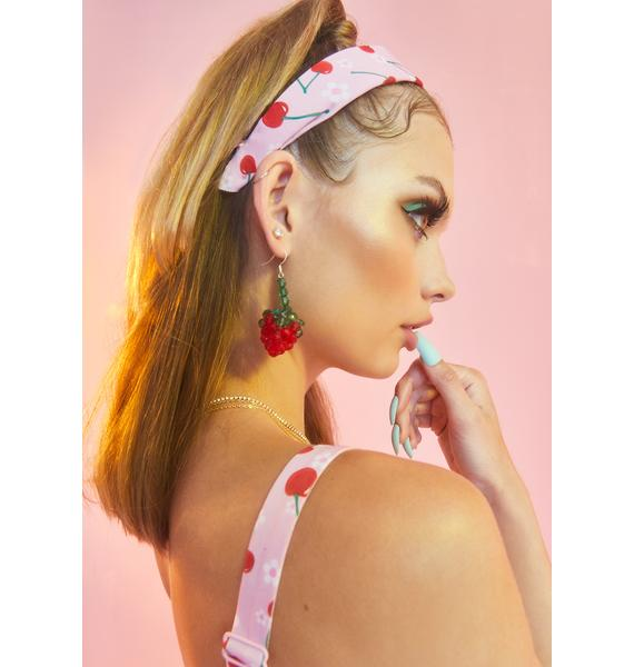 All About Cherry Drop Earrings