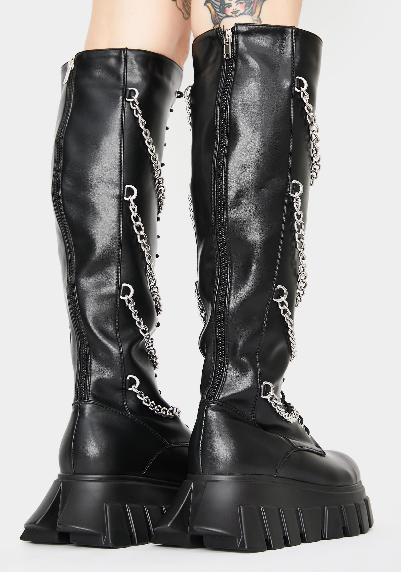Lamoda Old Ways Knee High Boots