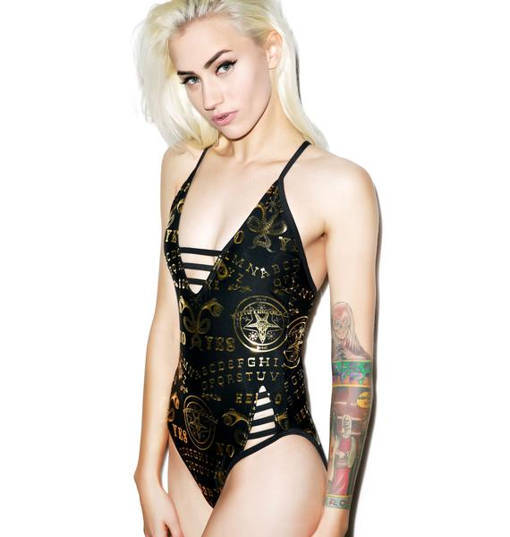 Too Fast Ouija Sacrifice One-Piece Swimsuit
