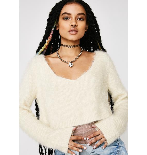 Sweet Like Suga Crop Sweater