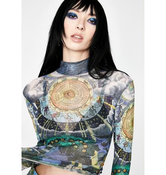 HOROSCOPEZ Illusions N' Delusions Mesh Top