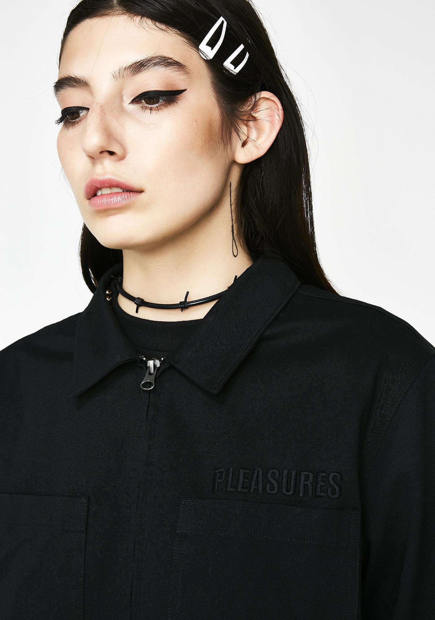 Pleasures Garage Shirt Jacket