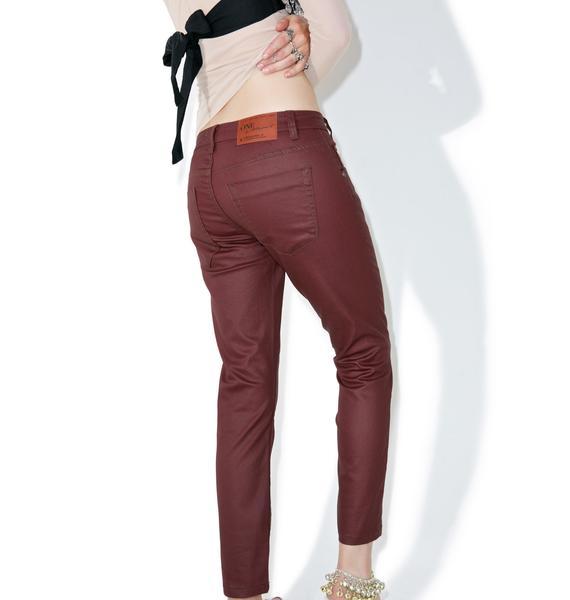 One Teaspoon Bordeaux Freebird Jeans