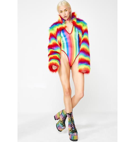 Baewatch Rainbow Bodysuit