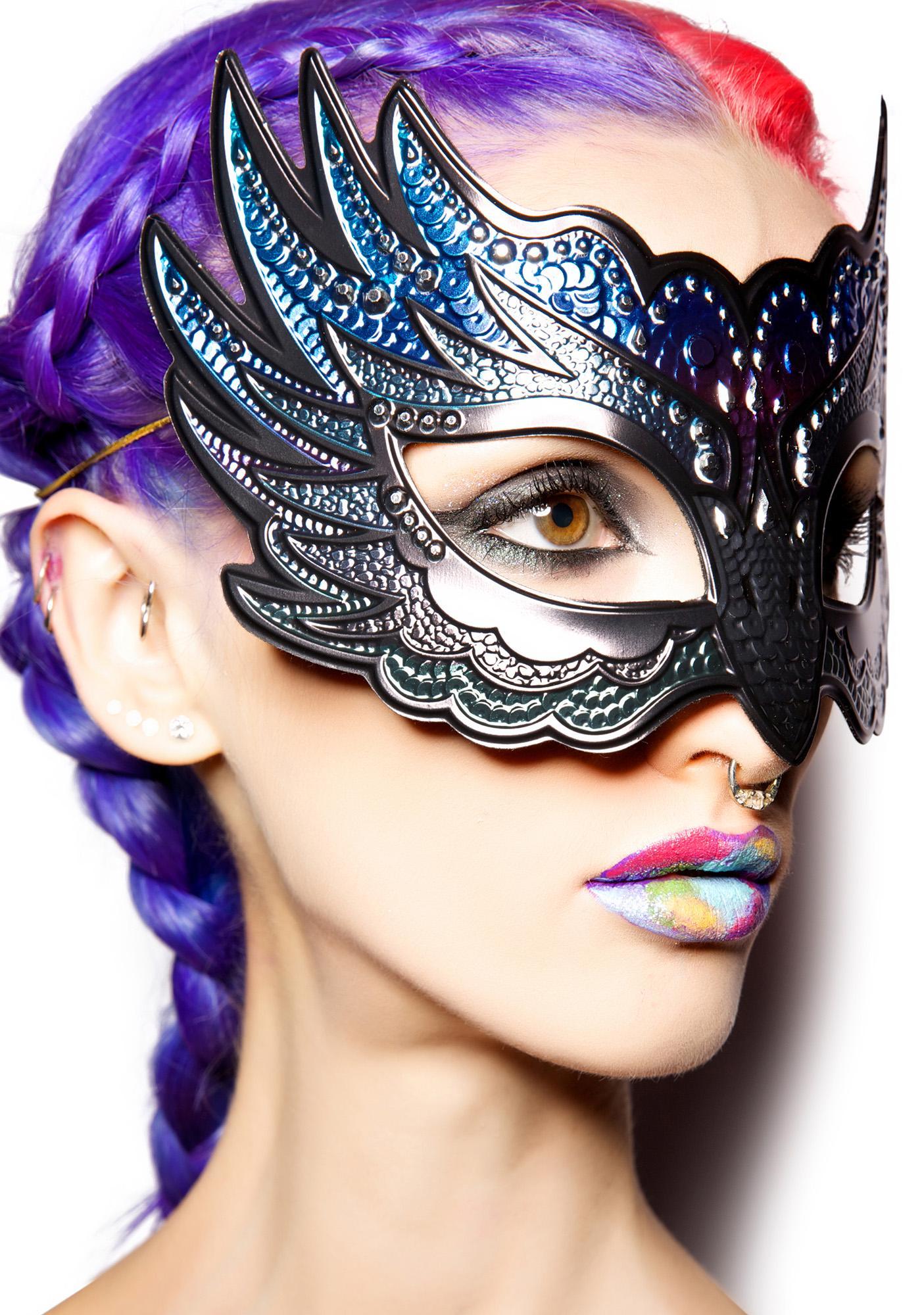 Datz So Raven Sparkle Mask