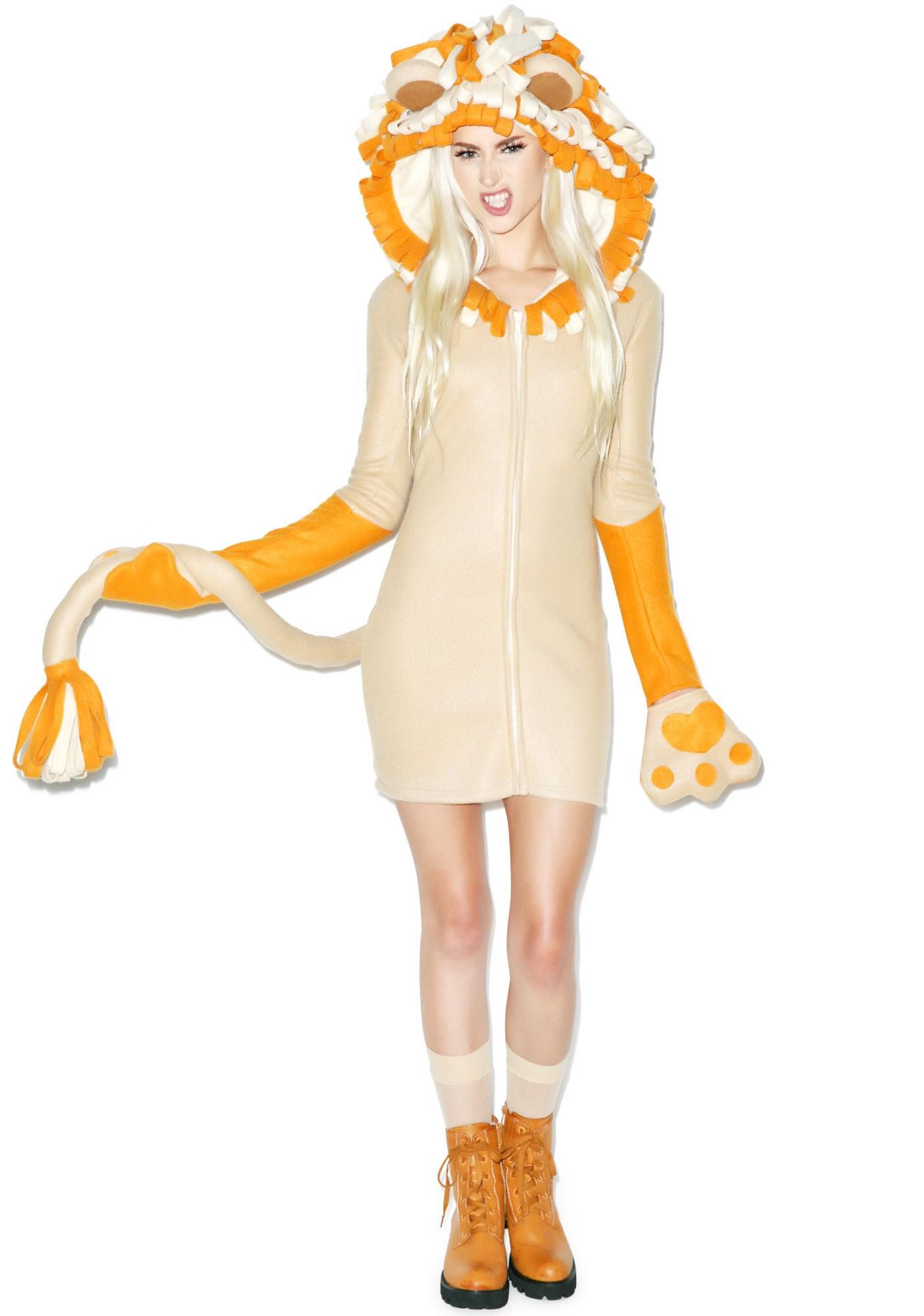 The Mane Event Hoodie Costume