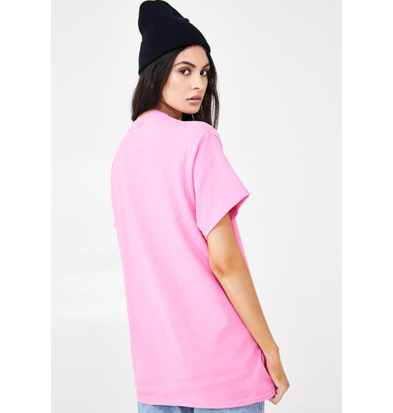 The Ragged Priest I'm Dead Pink Tee