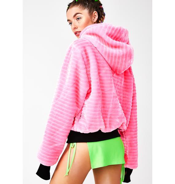 Club Exx Digital Mystic Hooded Jacket