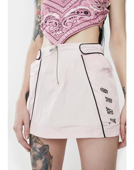 Urmah Dojo Zip Up Mini Skirt