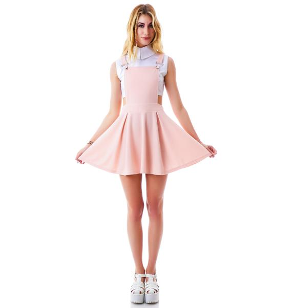 Good Girl Suspender Dress