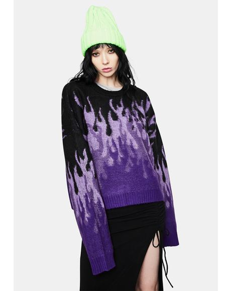 Revoly Flame Knit Sweater