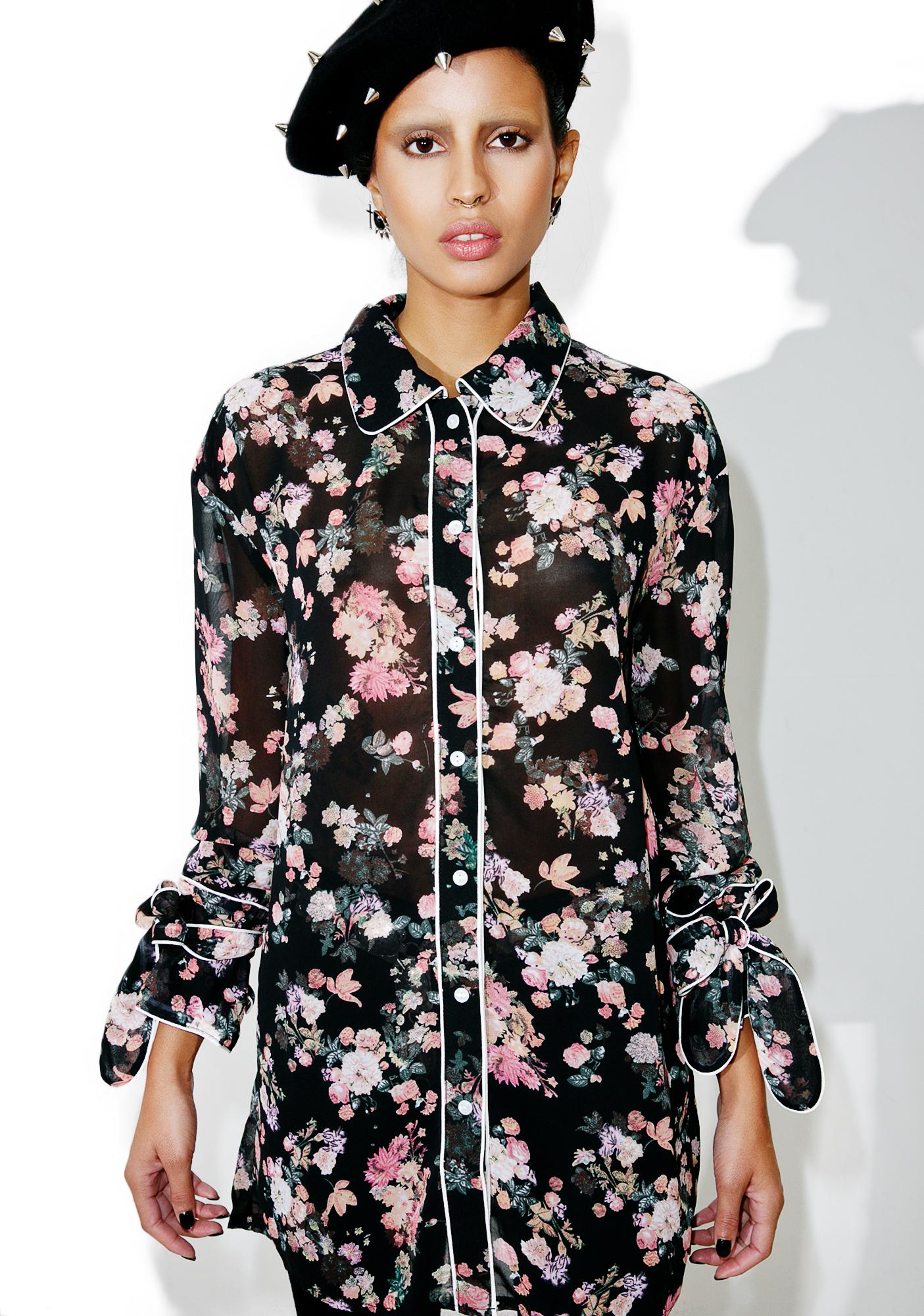Daydreamin' Button-Up Blouse