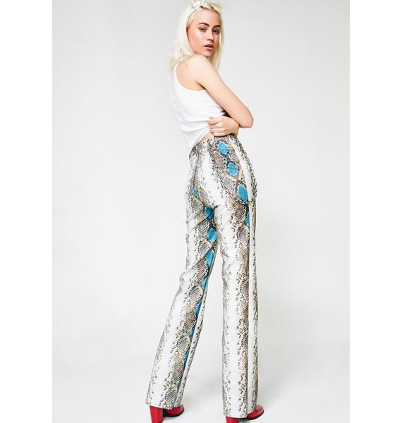 I AM GIA Python Pants