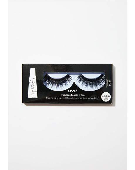 Disco Queen Fabulous Lashes & Glue