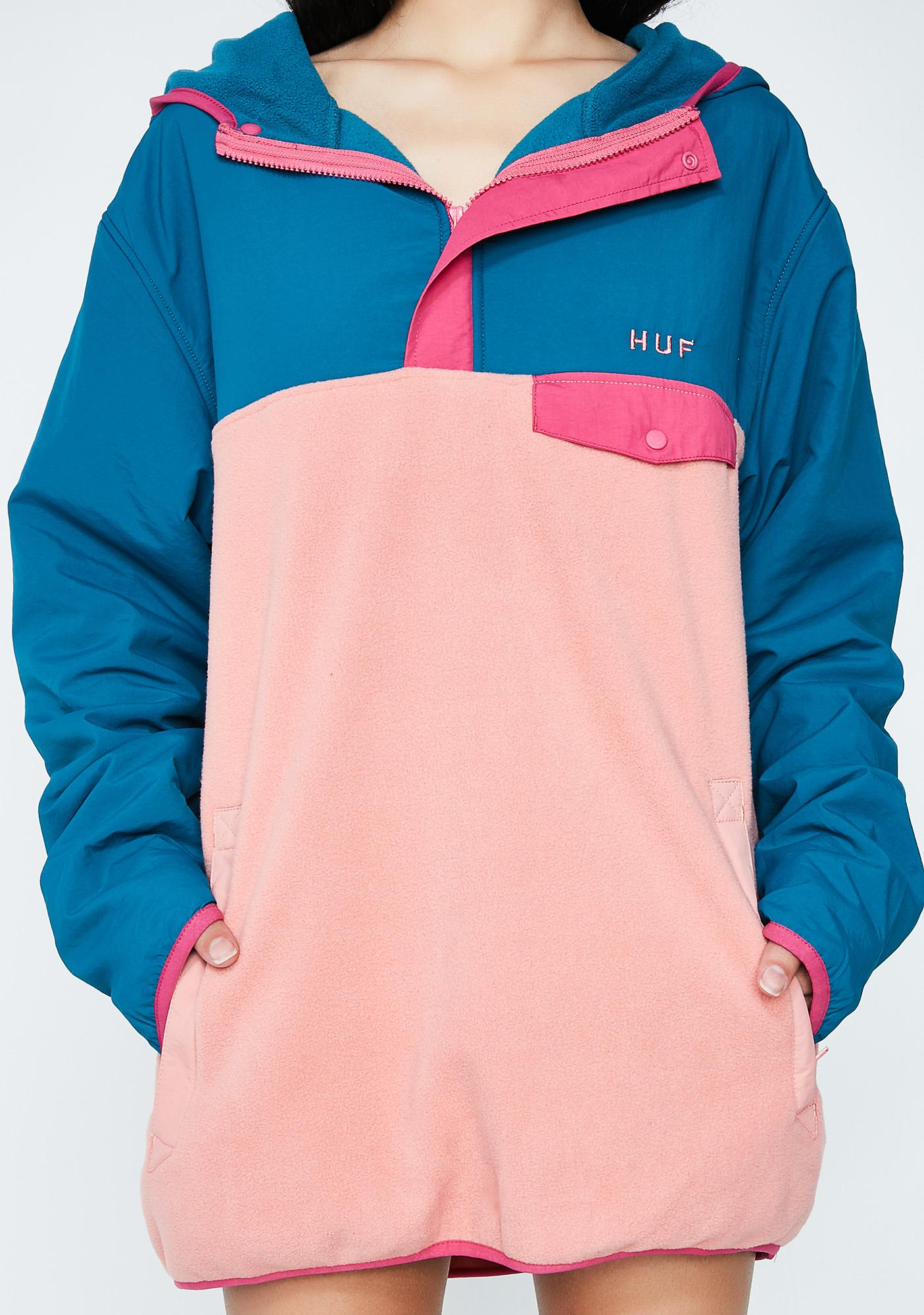 HUF Muir Hooded Pullover Jacket