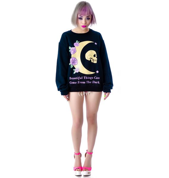 Jac Vanek Beautiful Things Crew Sweatshirt