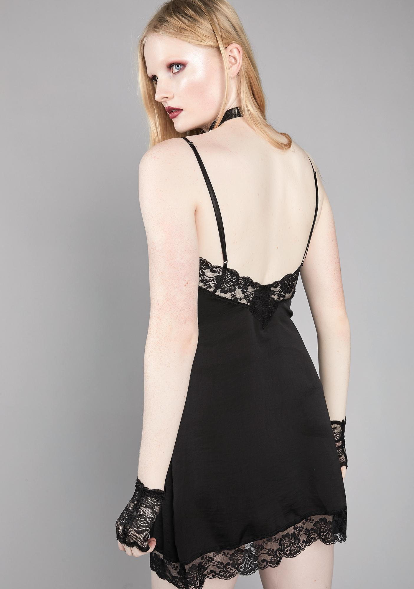 Widow Hallow Memories Slip Dress