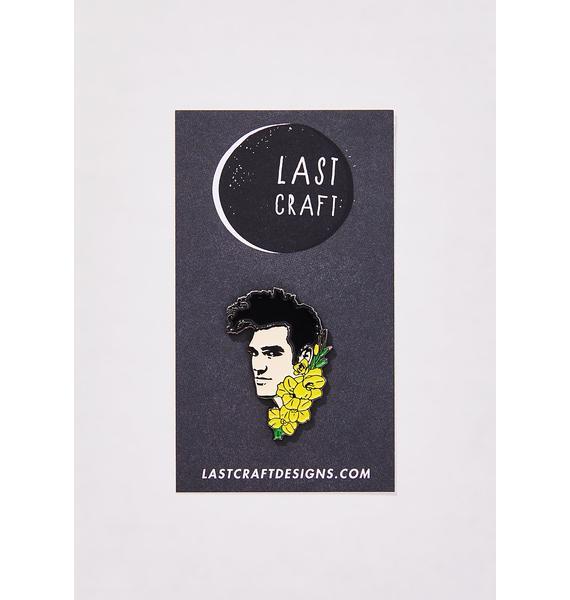 Last Craft Morrissey Head Pin