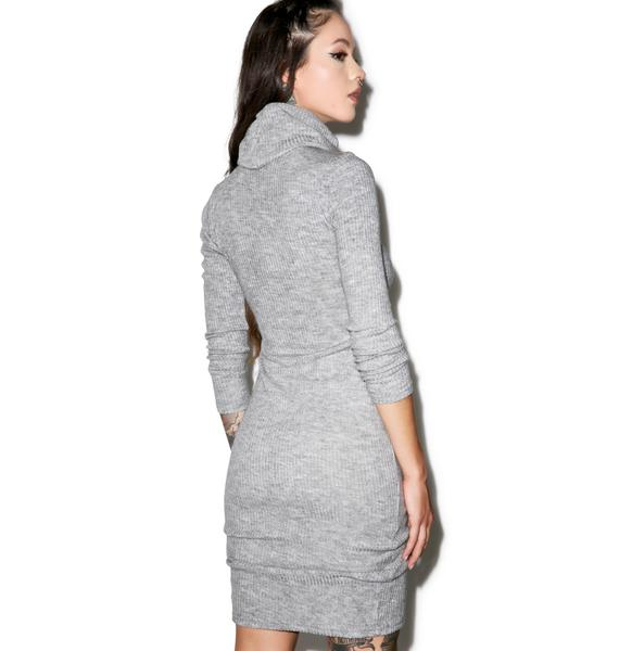 Glamorous Kylie Turtleneck Midi Dress