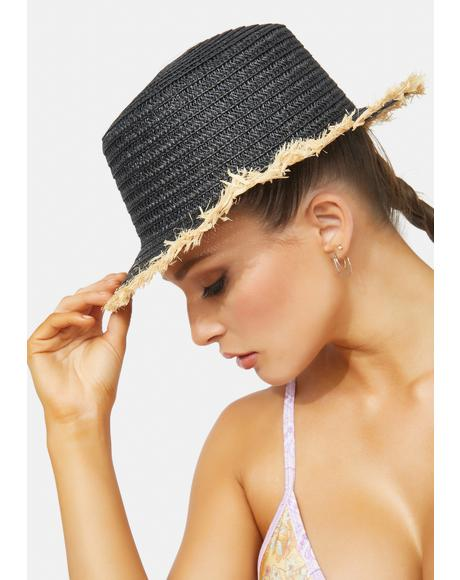 Onyx Told You So Straw Hat