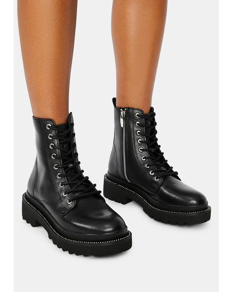 Graham Combat Boots