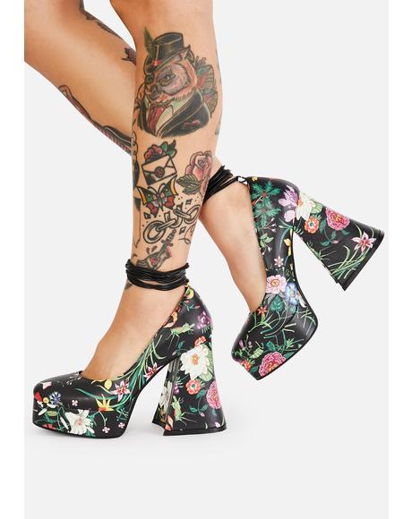 Lush & Lavish Platform Heels