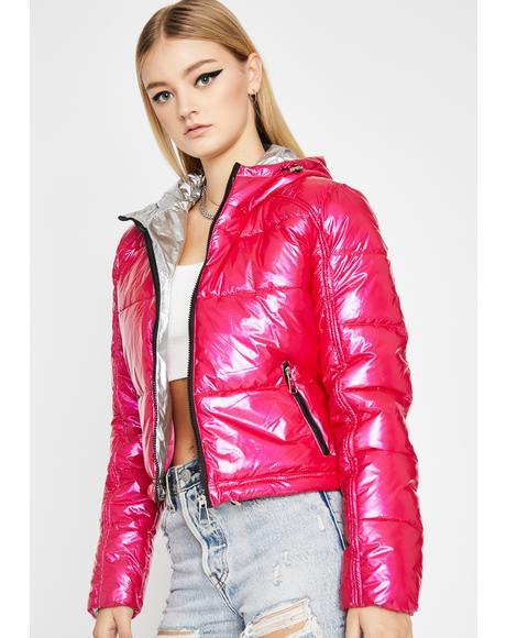 Keep My Cool Puffer Jacket