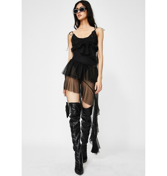 Kiki Riki Midnight Fantasy Affair Asymmetrical Dress
