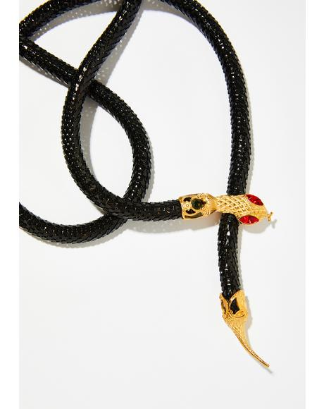 Medusa Snake Belt